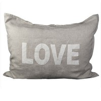 Linen Love Sham - Sheet Sets + Shams - Bedding