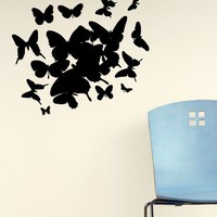 Butterfly Cluster Decal  - Decals - Wall