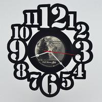 Vinyl Record Album Wall Clock (artist is Dan Fogelberg)