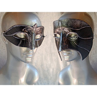 MADE TO ORDER  Venetian Assassin Masks  His and by angelicshades