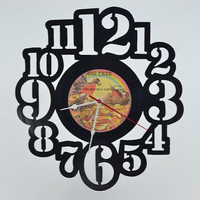 Retro Wall Clock (artist is England Dan &amp; John Ford Coley)