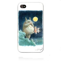 Movie Theme Collection iPhone 4 / 4S Case - My Neighbor Totoro