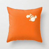 Finding Nemo Throw Pillow by PANDREAA | Society6