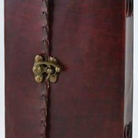 1842 Poetry Leather Blank Book