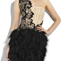 Marchesa | Embellished corset dress | NET-A-PORTER.COM