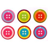Amazon.com: Button Style Home Button Stickers for iPhone 5 4/4s 3GS 3G, iPad 2, iPad Mini, iTouch 6 pieces: Toys & Games