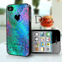 Colorful background  iPhone 4S and iPhone 4 Case by DanazDesigns