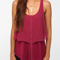 Urban Outfitters - Pins and Needles Chiffon Tank Top