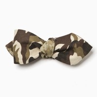 Cotton Treats - Joshua Reversible Bow Tie (Brown)