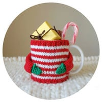 Cozy Mug Sweater for Christmas by mugsweater on Etsy