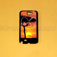 Samsung Galaxy Note 2 case, Hakuna Matata Forever Samsung Galaxy Note 2 case For your Samsung Galaxy Note 2