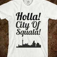 Holla City of squala - Savannah Banana