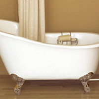 Sunrise Specialty Slipper Clawfoot Tub 896S805 7N Polished Nickel Feet