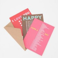 UrbanOutfitters.com > Greeting Card Set
