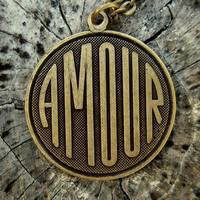Amour Necklace - $15.50 : RagTraderVintage.com, Handmade Indie Retro Accessories