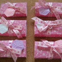 It's A Girl Party Favor by SuperCraftyLady on Etsy