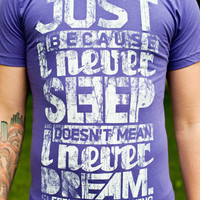 Product - Never Sleep (Purple) by Sleepyhead Clothing · Storenvy