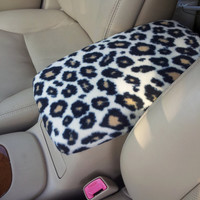 Center Console Cover CHEETAH PRINT for Honda Civic 2004 to 2012 (Sample Picture CC2) Lid Cover