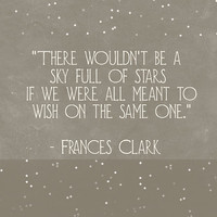 Inspirational Stars Wall Art Quote Print Motivational Art Print Sky Full Of Stars Gray Dorm Room Decor