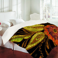 DENY Designs Home Accessories | Gina Rivas Design Exotic Floral Duvet Cover