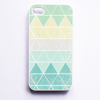 iPhone 4 Geometric Case in Frost - Case for iPhone 4, iPhone 5, Samsung S2 & S3