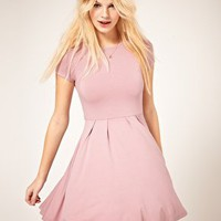 ASOS | ASOS Cap Sleeve Skater Dress at ASOS