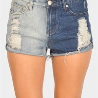 Dip Dye Short - Blue