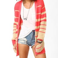 Graduated Colorblock Cardigan