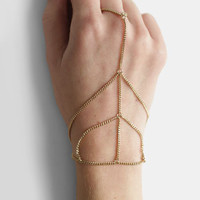 Giza Handpiece in Gold - $14.00 : ThreadSence, Women's Indie & Bohemian Clothing, Dresses, & Accessories