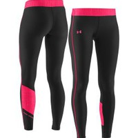 Under Armour Women's Print Blocked ColdGear Tights