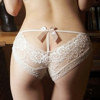 Free shipping Romantic panty size 6 by Butterflydress on Etsy