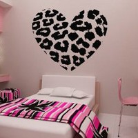 Amazon.com: Removable Wall Decal Sticker DIY Art Decor Mural Vinyl Home Room Leopard Spot Heart Print: Home & Kitchen