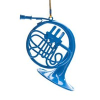Blue French Horn Ornament- From How I Met Your Mother (FAST WORLDWIDE SHIPPING) GREAT GIFT FOR any