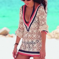 Riviera Sands Coverup | Ondademar Swimwear for Women | Ondademar Swimsuits 2012
