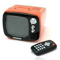 Colorful Retro Style Mini TV Alarm Clock