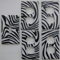 Zebra Stripe Animal Prin...