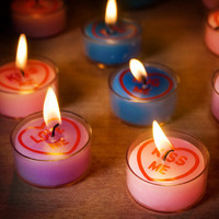 Love Hearts Tealights at Firebox.com