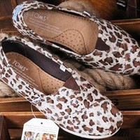 Toms Ladies Shoes - Leop...