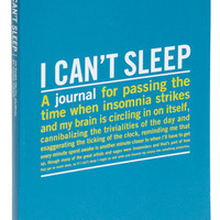 I Can&#x27;t Sleep Journal 
