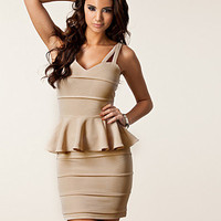 Peplum Bandage Dress, Rare London