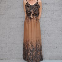 Olive- Online Women's Boutique / Out On A Limb Maxi Dress