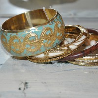 Olive- Online Women's Boutique / The Perfect Blend Bangles