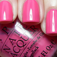 New! OPI ♥ SOUTH BEACH COLLECTION ♥ Nail Lacquer Polish~ FEELIN' HOT-HOT-HOT!