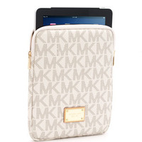 MICHAEL Michael Kors  Logo iPad Case, Vanilla or Brown - Michael Kors