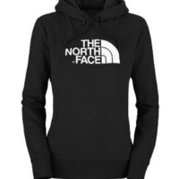 Amazon.com: The North Face Womens Half Dome Hoodie TNF Black: Sports & Outdoors