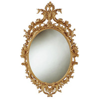 1STDIBS.COM - Kentshire Galleries Ltd. - A fine George II carved giltwood oval mirror.