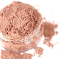 Ginger - Medium Peachy Apricot Vegan Mineral Eyeshadow - Handcrafted Makeup | Luulla