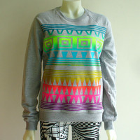 Gold Rainbow Tribal Sweatshirt