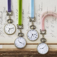 Pocket Watch Bookmarks - Set of 4