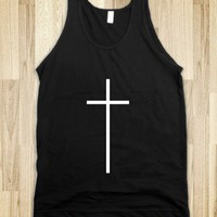 Black Cross Tank - Awesome fun #$!!*&amp;
